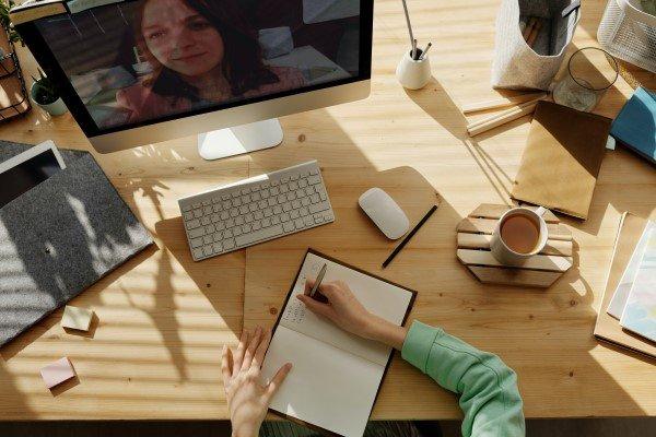Video Call Between People