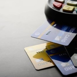 Card Reader with Payment Cards