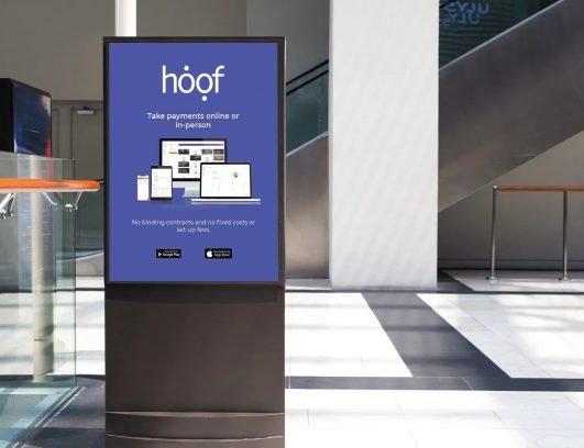 Hoof Advert in Station